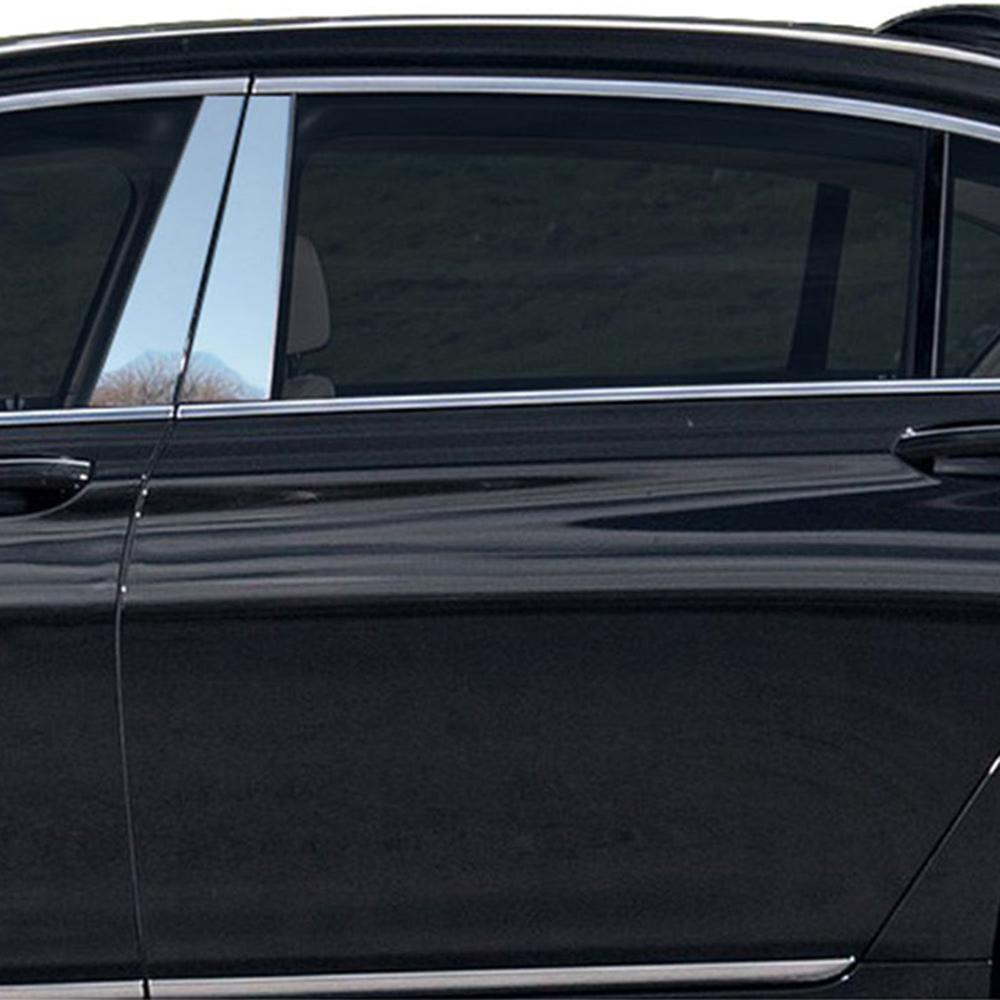 Luxury FX Pillar Post Trim For 2016-2019 BMW 7 Series 4dr