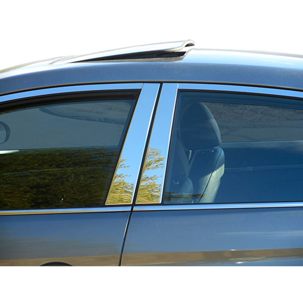 18p Luxury FX Chrome Window Package fit for 06-11 Hyundai Accent w//Posts//Sill