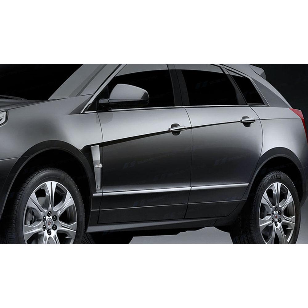 Cadillac Srx: 2010-2013 Cadillac SRX SES Chrome Body Side Molding