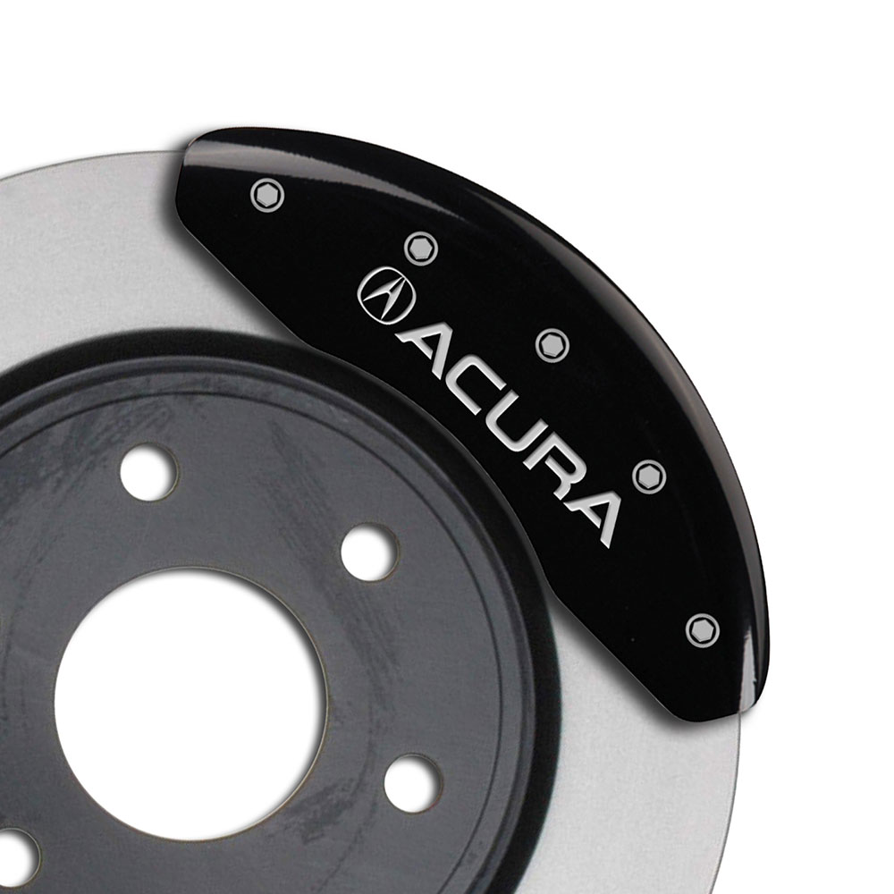 MGP Caliper Covers Engraving For 2008 Acura TL-Black