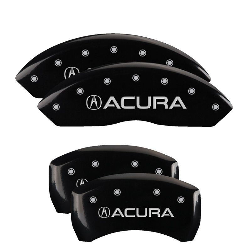 MGP Caliper Covers Set Fit For 2019 Acura RDX Base Black