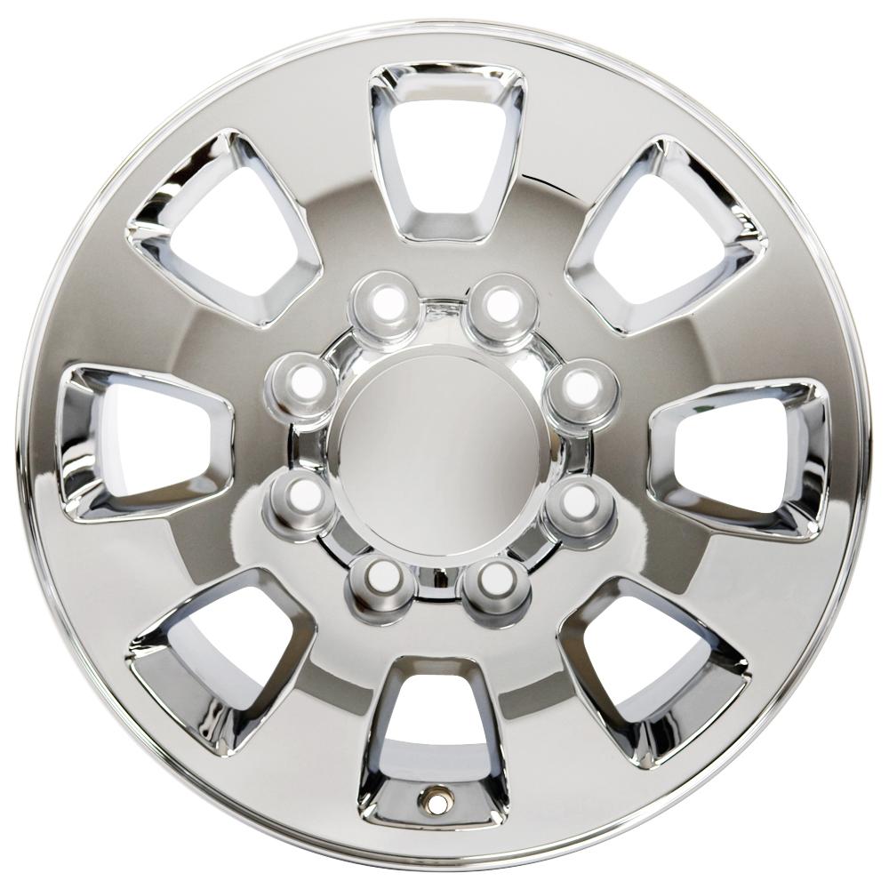Chrome Sierra 2500  3500 Style Wheel For 1997
