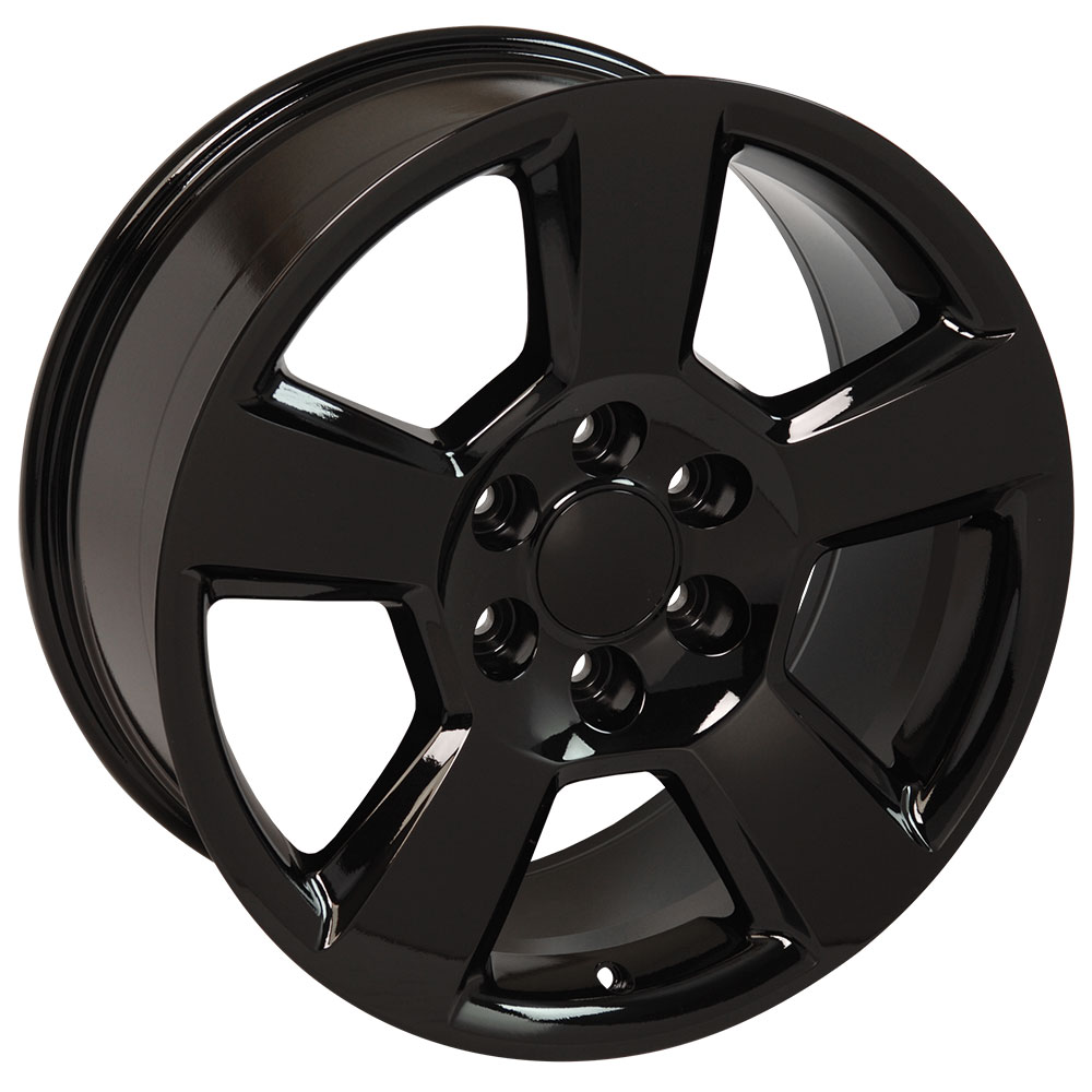 """Black 20"""" Wheel - 20x9 #5652 - Compatible With Tahoe"""