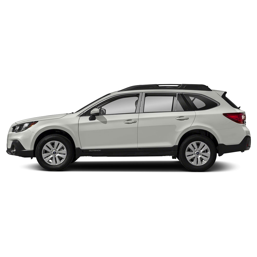 8p Auto Reflections Pillar Post Covers fit for 2015-2018 Subaru Outback