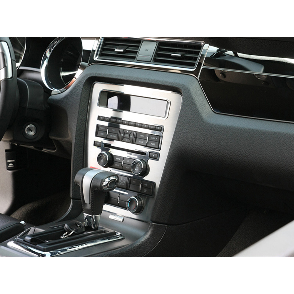 Ford Gt 2014 Price: Stainless Steel Center Dash/Radio/AC Trim Ring For 2010