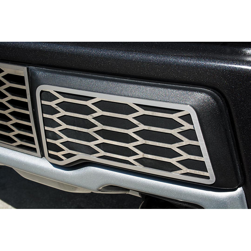 2015 2016 FORD F-150 8PC STAINLESS STEEL GRILLE ACCENT TRIM
