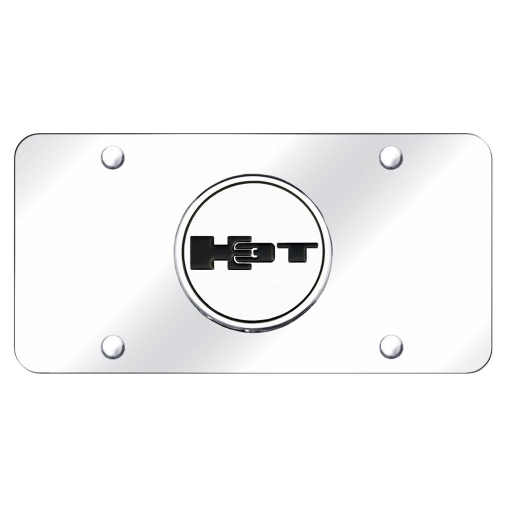 Hummer H2 Logo Chrome Emblem Decorative Vanity License Plate