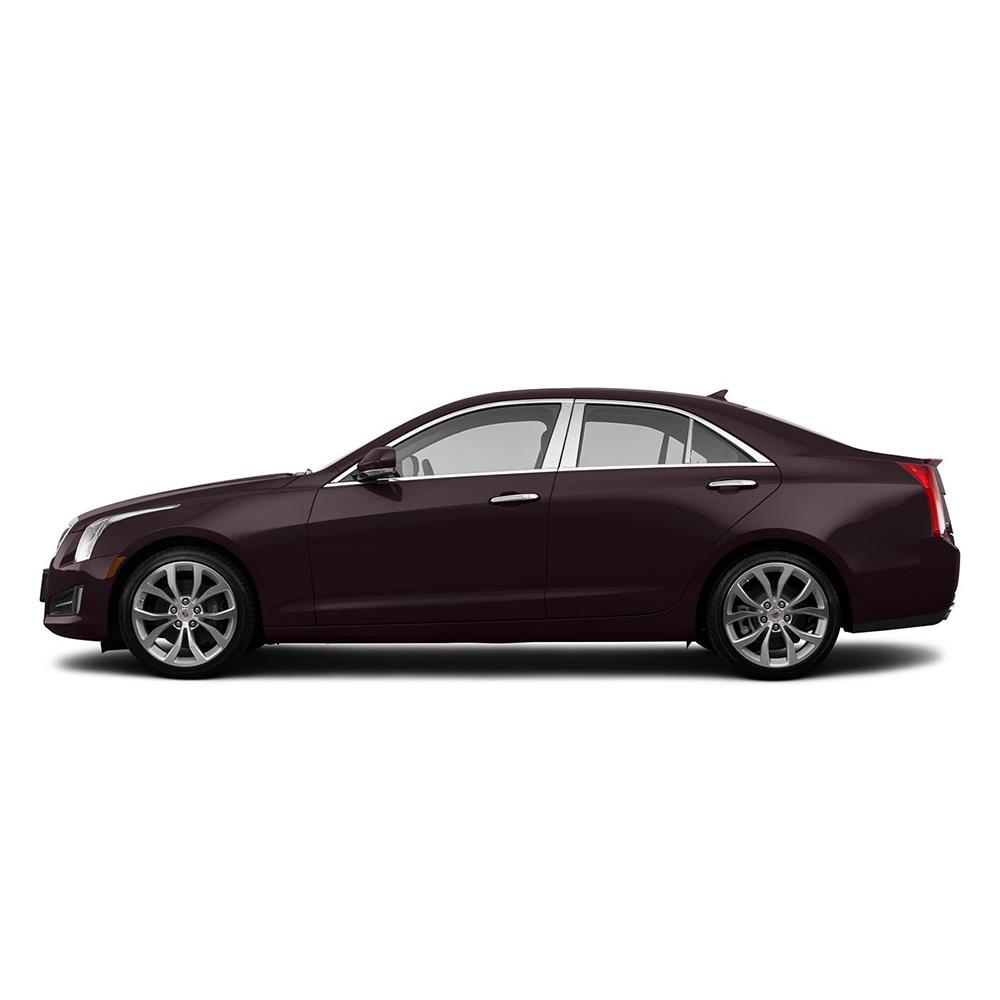 Chrome Pillar Post Covers For 2013-2019 Cadillac ATS 6