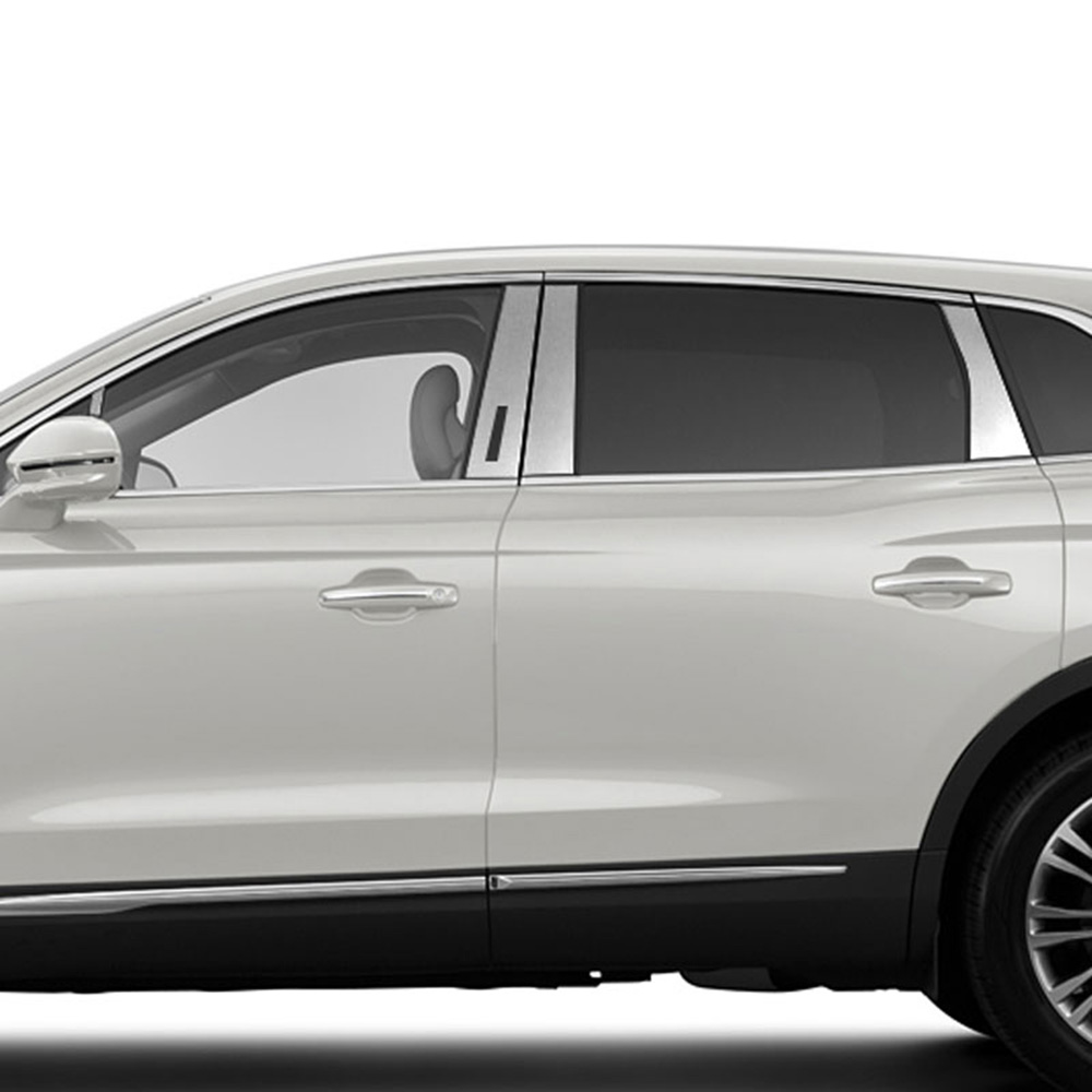 Chrome Pillar Post Covers For 2015 2019 Lincoln Mkx 8