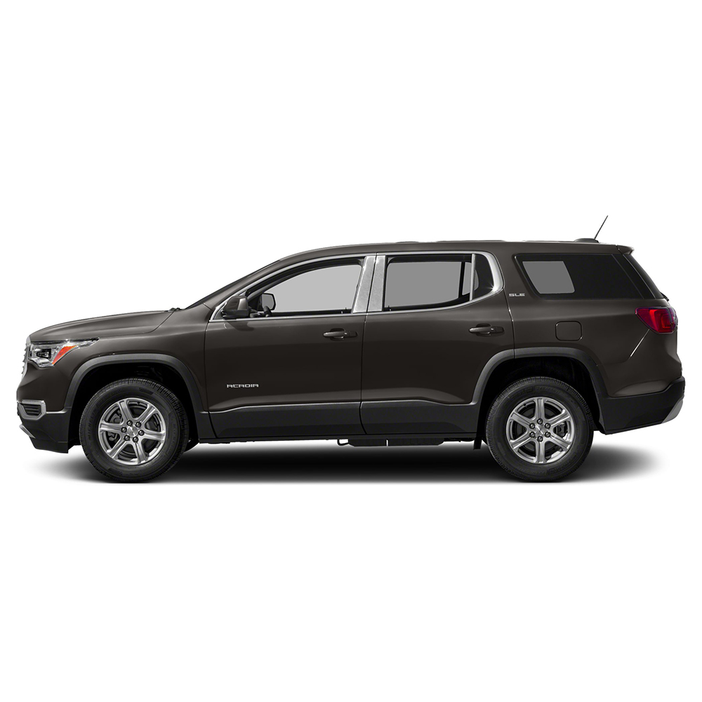 Pillar Post Covers For 2017-2019 GMC Acadia (Stainless