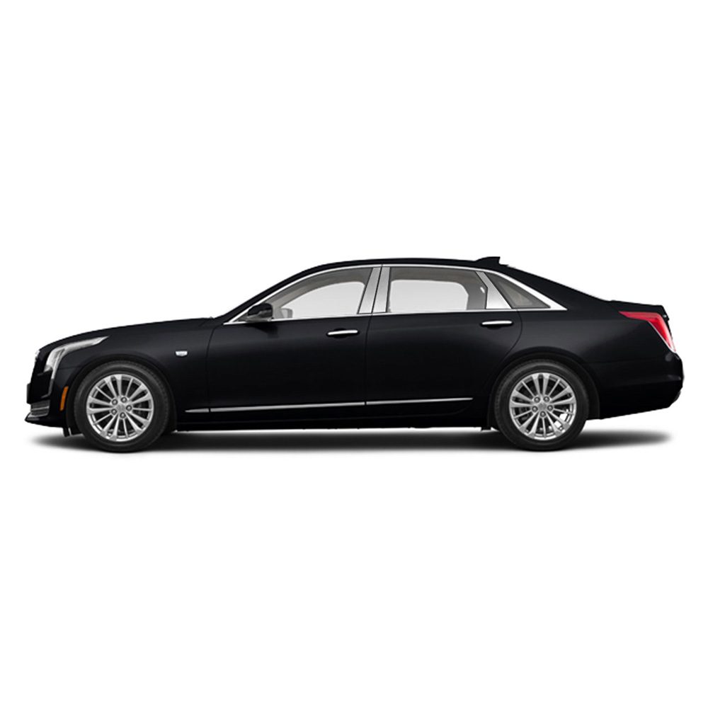 Pillar Post Covers For 2016-2019 Cadillac CT6 (Stainless
