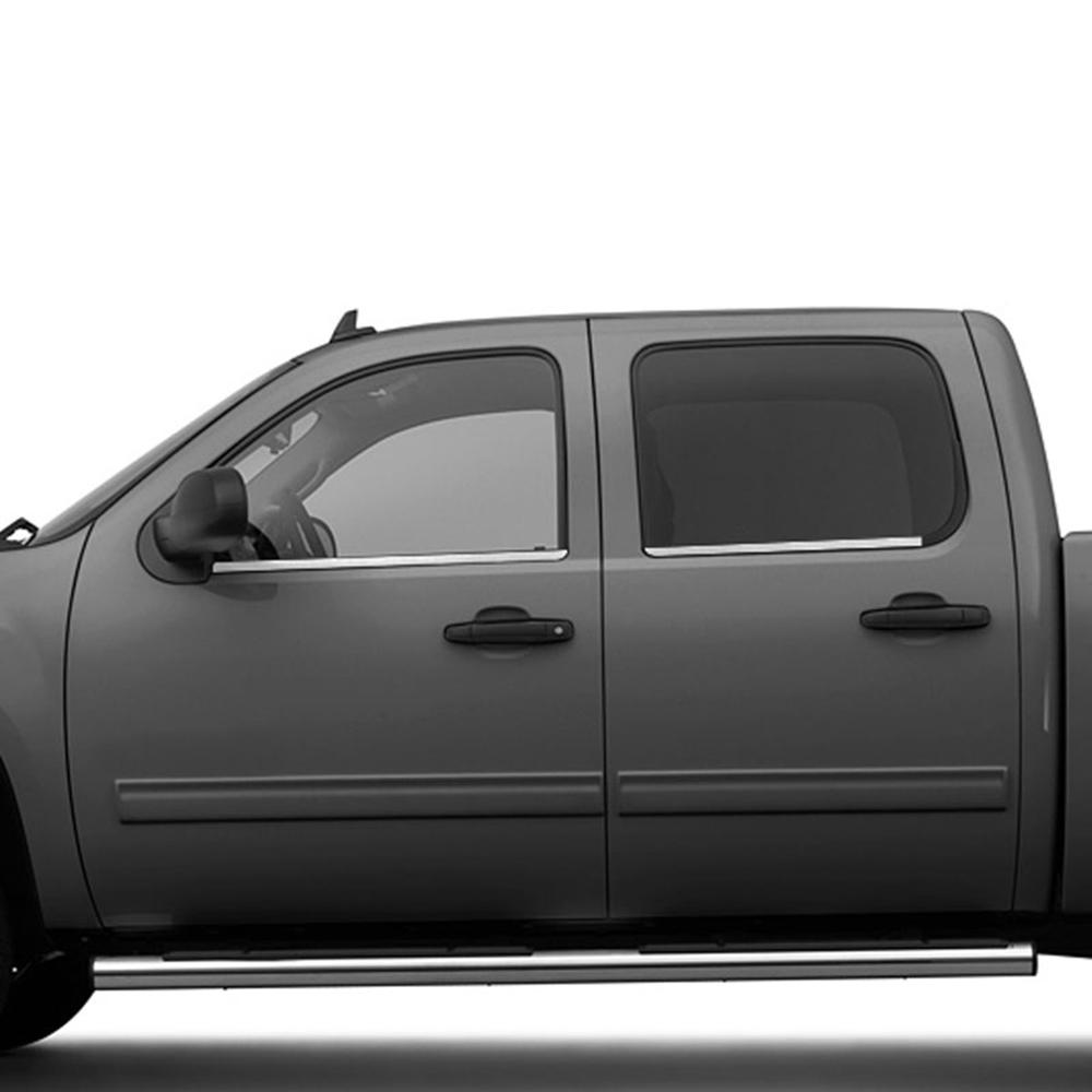 Window Sill Trim For 2007-2013 GMC Sierra 1500 Crew Cab