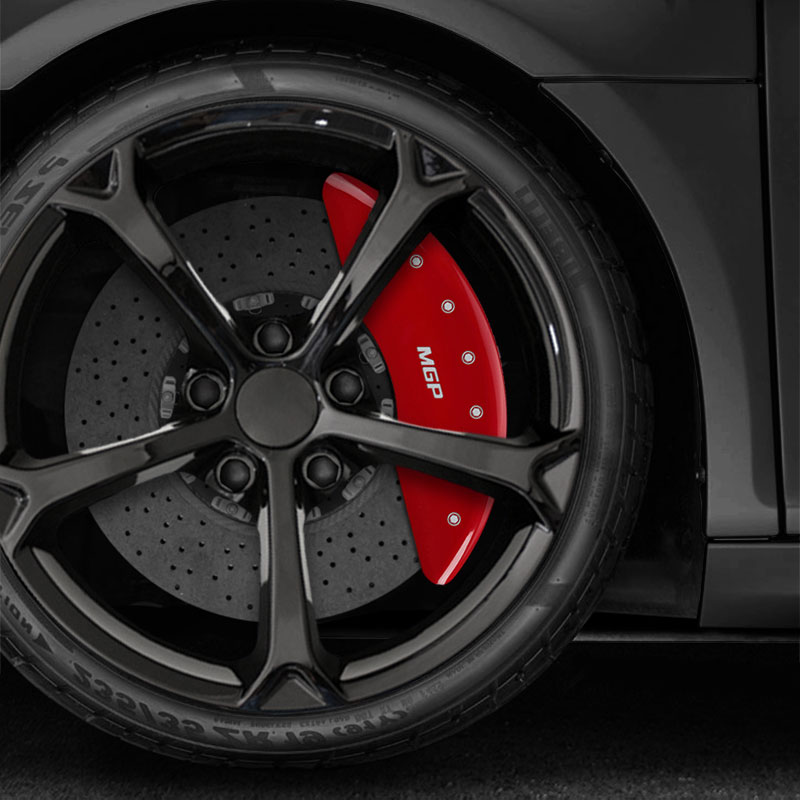 2009 Nissan Maxima Exterior: Set Of 4 Red MGP Caliper Covers For 2009-2018 Nissan