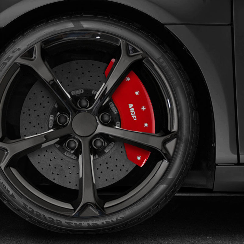 Set Of Red MGP Caliper Covers For BMW I GT XDrive - Bmw 328i red