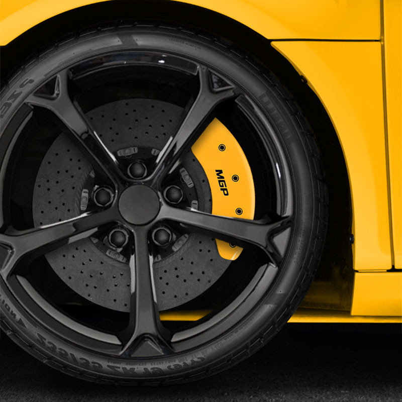 2013 Mazda Cx 5 Grand Touring For Sale: Set Of 4 Front And Rear Yellow MGP Caliper Covers For 2013