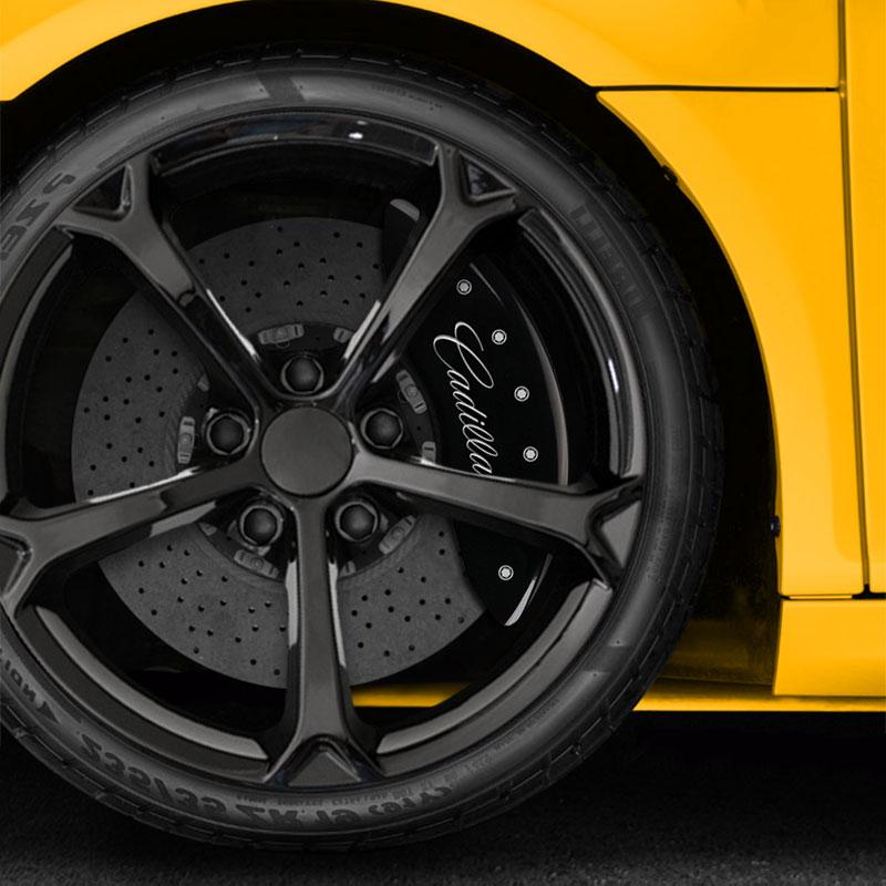 Black Caliper Covers For 2009-2019 Cadillac CTS Sedan
