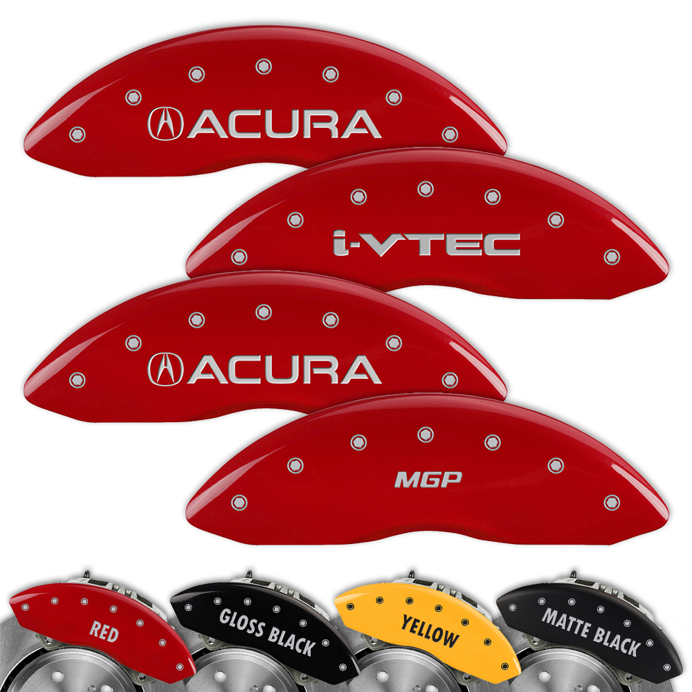 Engraved Set Of 4 MGP Brake Caliper Covers For Acura MDX