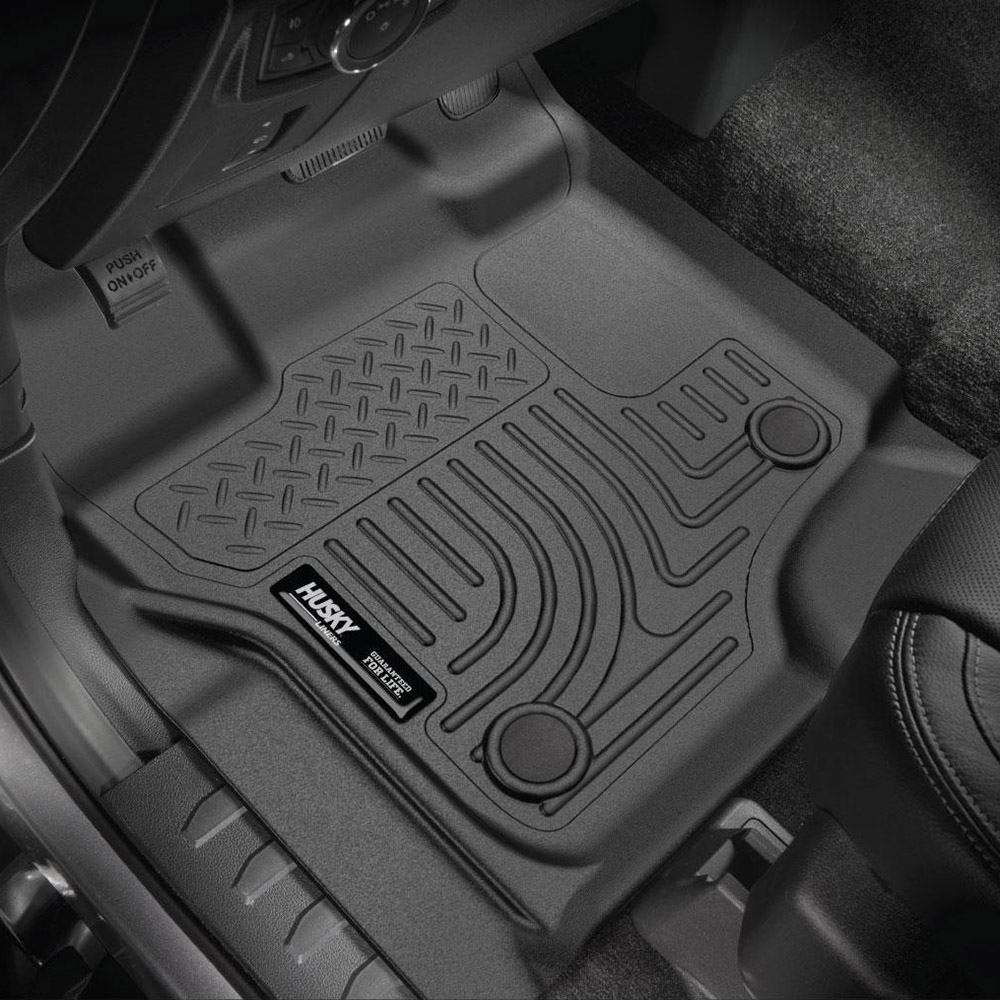Husky Liners WeatherBeater Floor Mats-3pc-98331 Ford F150 Crew Cab 09-14 Black