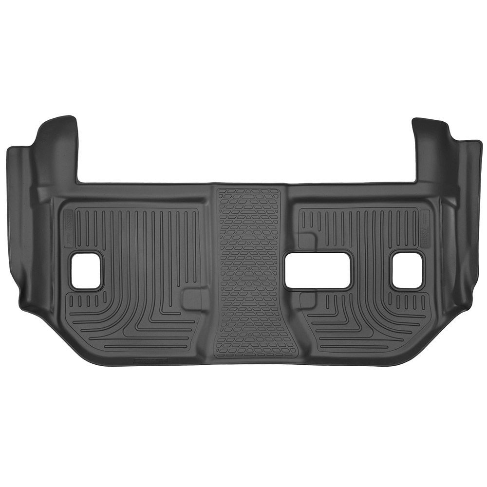 Husky Liners 3rd Row X-act Contour Black Floor Mat For 15