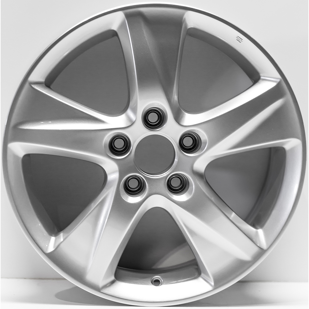 "17"" Silver Rim By JTE Wheels For 2009-2010 Acura TSX (17x7"