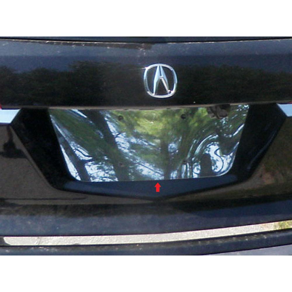 Luxury FX Chrome License Plate Bezel For 2007-2013 Acura
