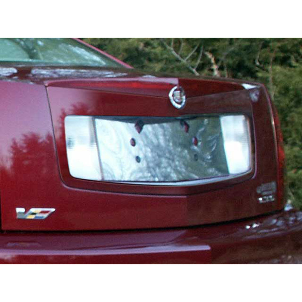 2005 Cadillac Cts Luxury: Luxury FX Chrome License Plate Bezel For 2005-2007