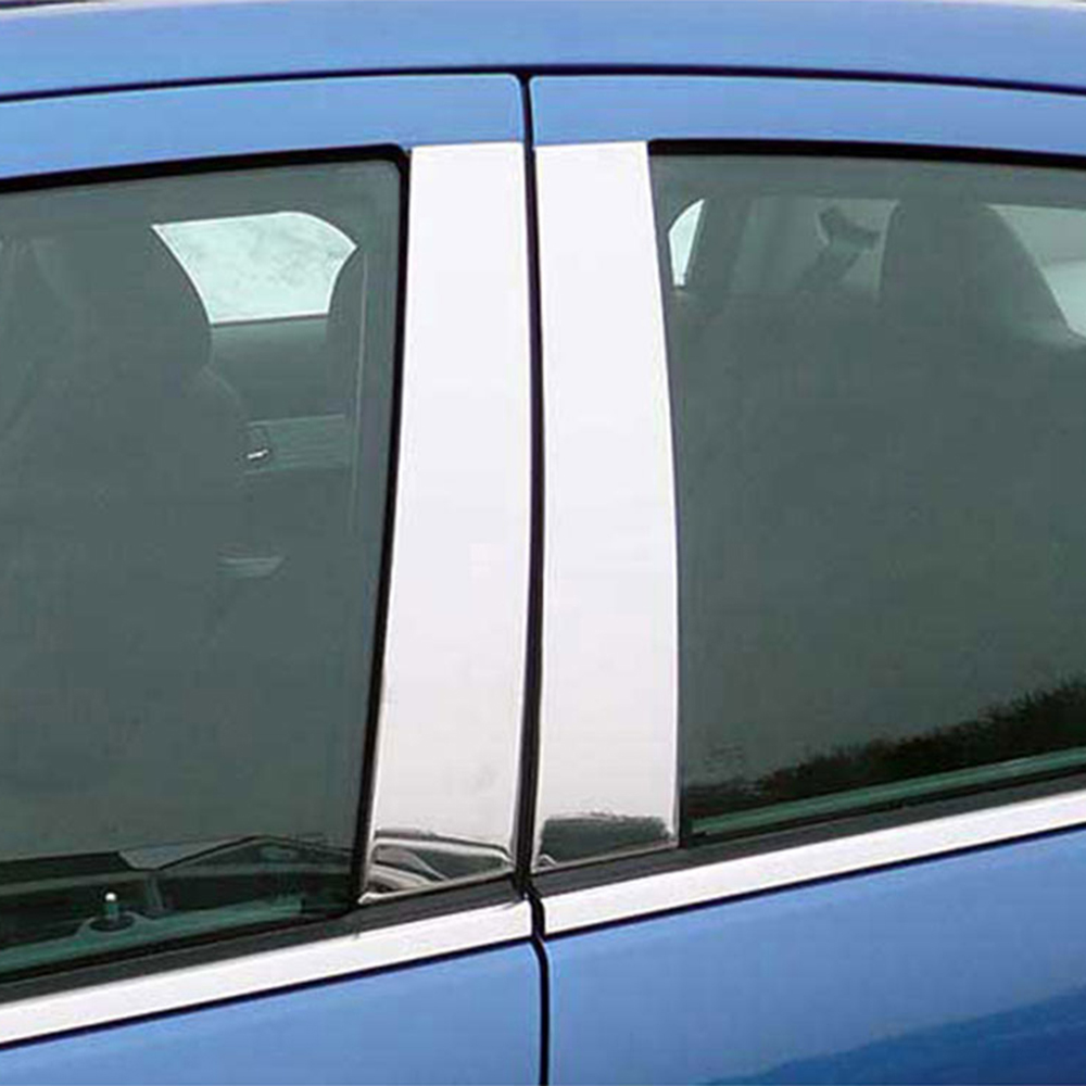 Stainless Steel Window Trim Package for 08-16 CHRYSLER TOWN /& COUNTRY-4DR