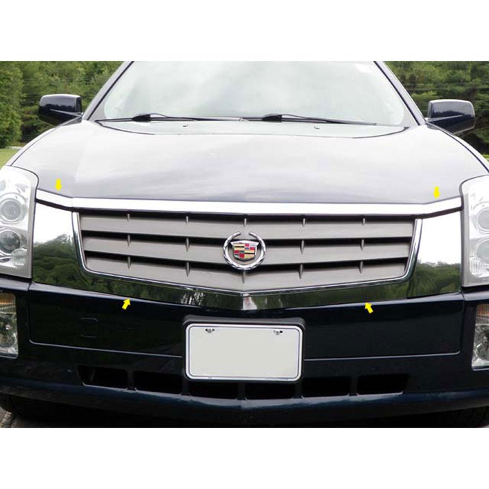 Cadillac Srx: 2004-2009 Cadillac SRX 4pc. Luxury FX Chrome Grille