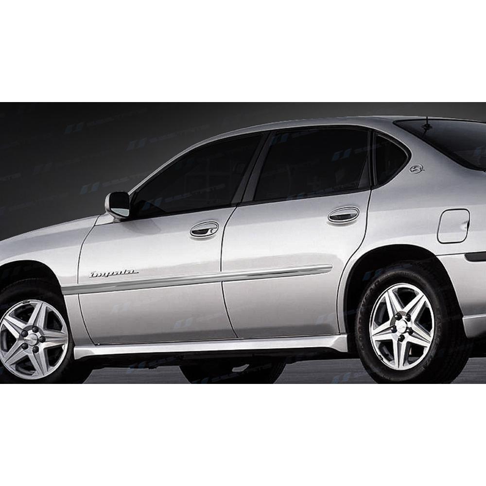 Ses Chrome Door Molding Trim For 2000 2005 Chevy Impala Ebay