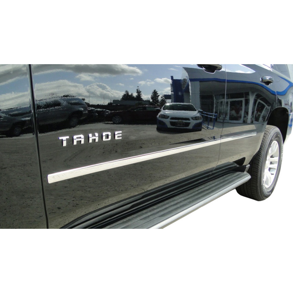 Chrome Factory Style Body Side Molding fit for 2015-2019 Chevy Tahoe 4 PC