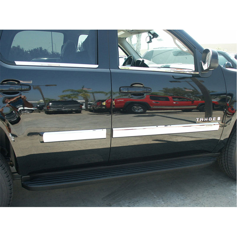 Legacy Auto Sales >> Chrome Door Molding Trim for 2010-2014 Chevy Tahoe | eBay