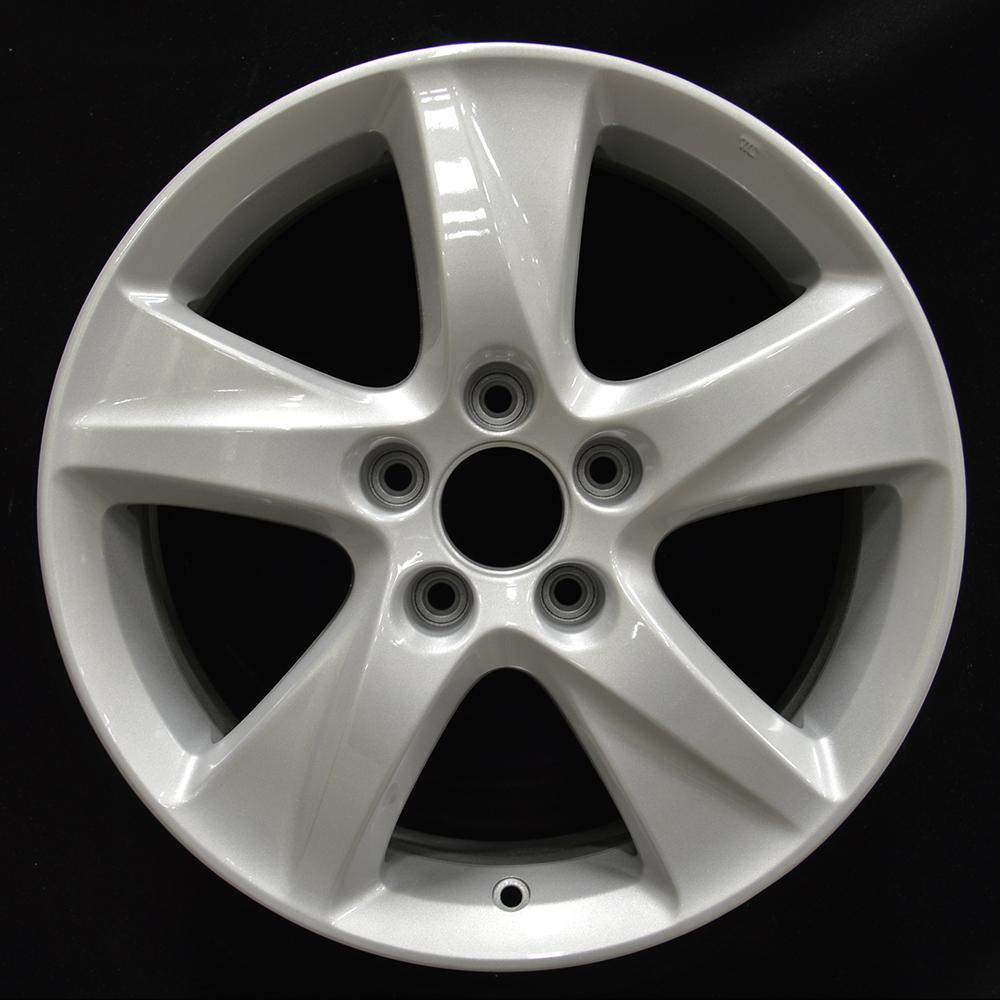 17x7.5 Factory Wheel (Bright Medium Silver) For 2009-2014