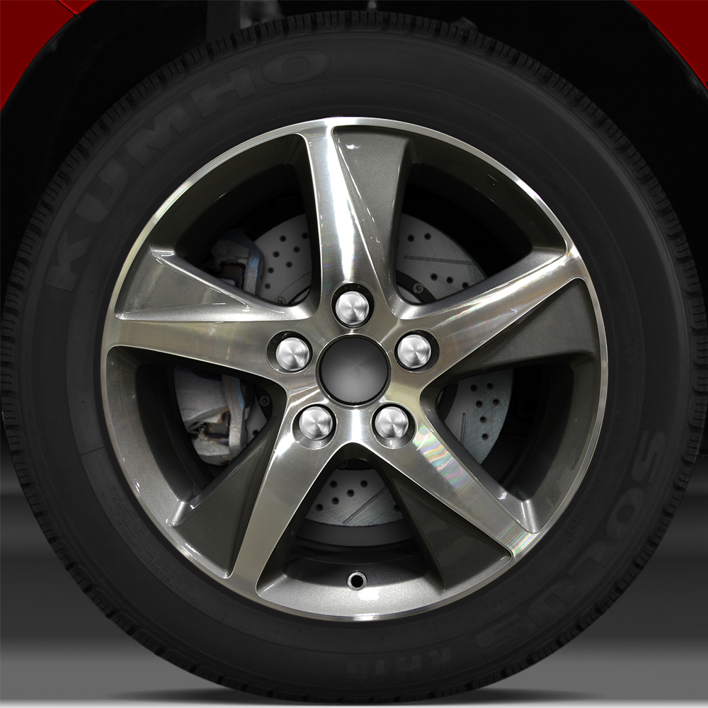 17x7.5 Factory Wheel (Bright Metallic Charcoal) For 2009