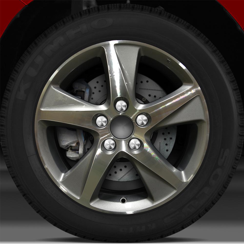 17x7.5 Factory Wheel (Blueish Metallic Silver) For 2009