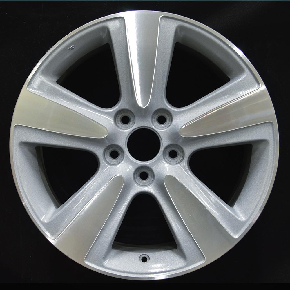 18x8 Factory Wheel (Dark Blueish Sparkle Silver) For 2010