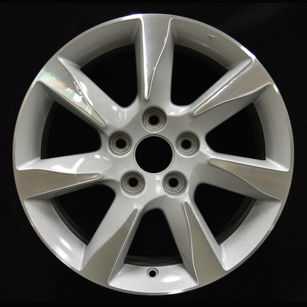 17x8 Factory Wheel (Gray Sparkle Silver) For 2012-2014