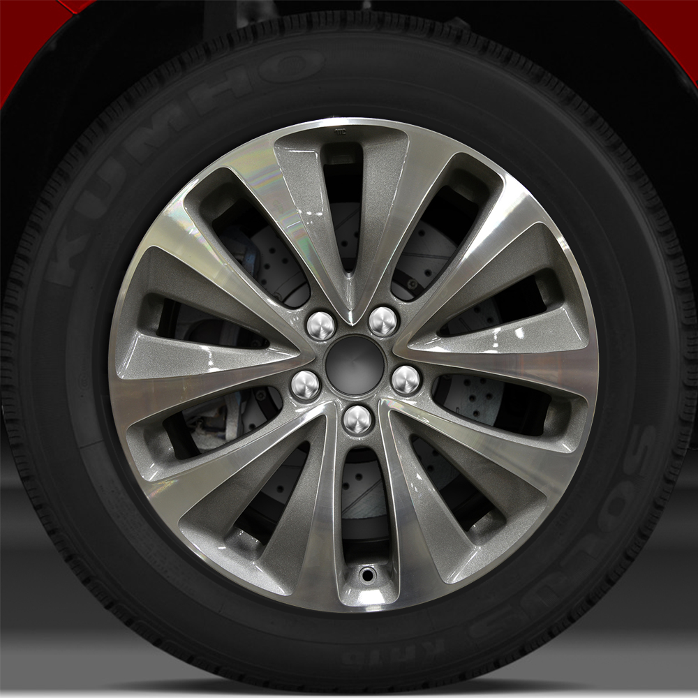 19x8 Factory Wheel (Medium Charcoal) For 2014-2015 Acura