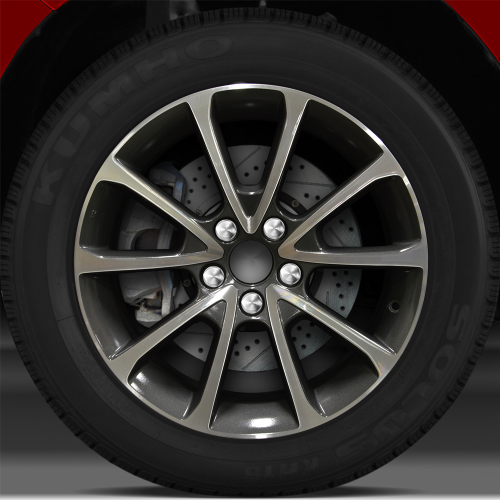 18x7.5 Factory Wheel (Carbon Gray) For 2015 Acura TLX