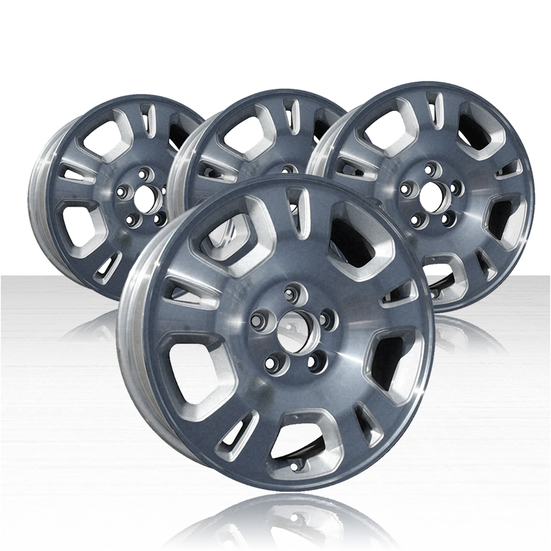 REVOLVE 17x6 Machined And Silver Wheel For 2001-2002 Acura