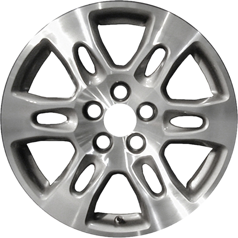 REVOLVE 18x8 Machined And Gray Vents Wheel For 2007-2009