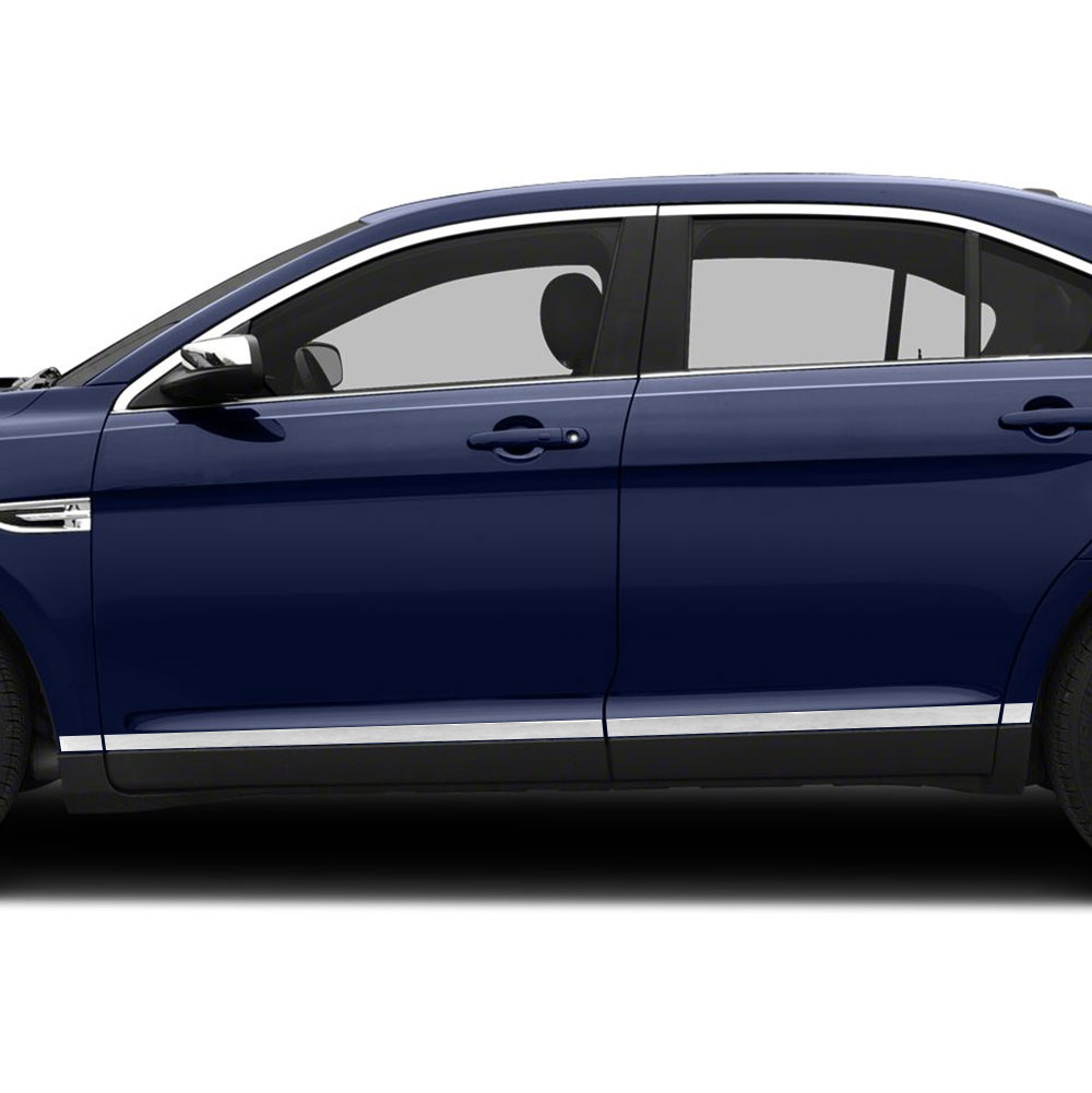 "2019 Ford Taurus: Diamond Grade 8pc 1 1/2"" Lower Accent Trim For 2010-2019"